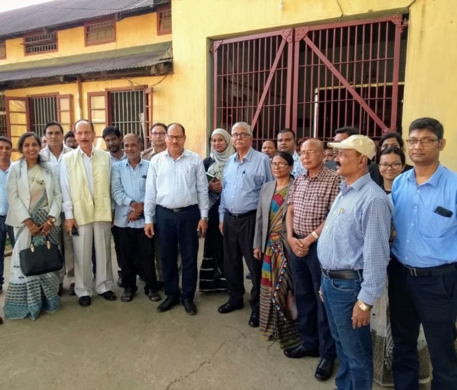 Visit to District Jail, Goalpara