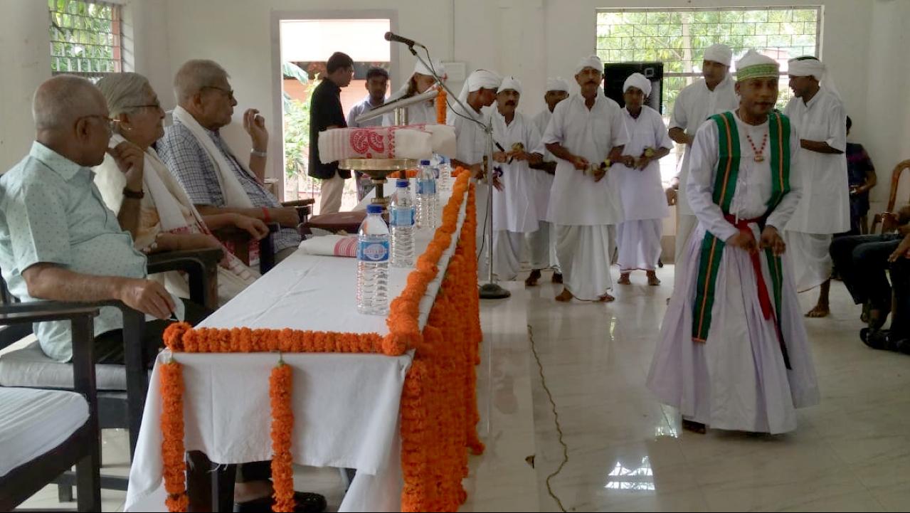 Ojapaali performance by inmates of Mangaldoi District Jail