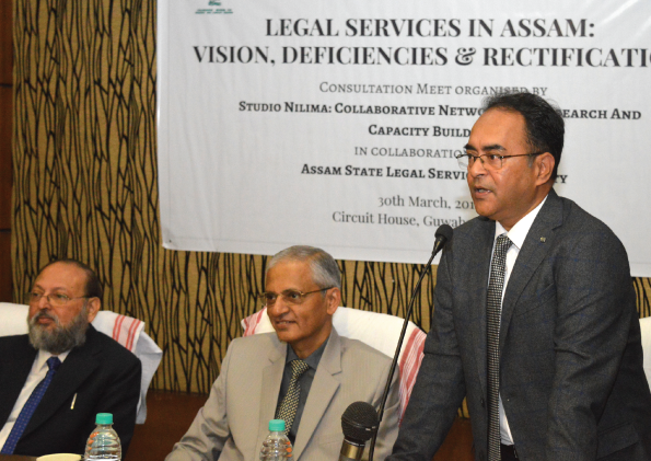 Legal Services in Assam: Vision, Deficiencies and Rectification - Consultation Meeting